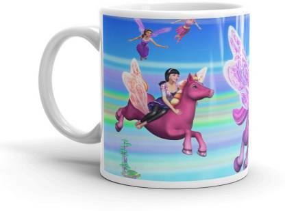 New Fashion Style butterfly horse racing printed Tea and Coffee Cup Gift for Any Occasion Tea Cups/Gift for Kids/ Cup for Friends Ceramic Coffee Mug