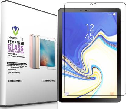 MOBIVIILE Tempered Glass Guard for Samsung Galaxy Tab S4 10.5 inch