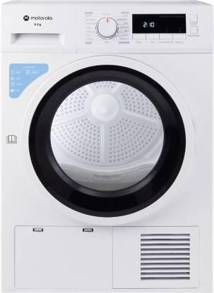 MOTOROLA 8 kg Dryer with In-built Heater White