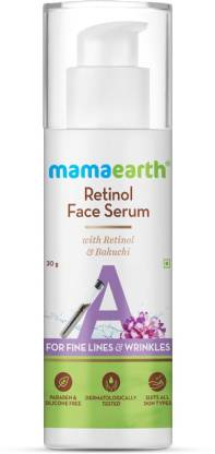 MamaEarth Retinol Face Serum with Retinol & Bakuchi for Fine Lines & Wrinkles