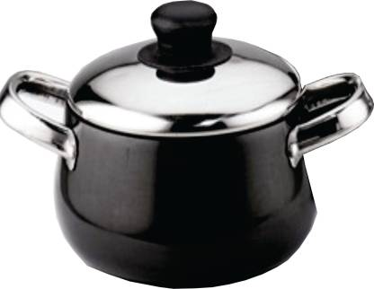 Kitchen Chef Cook and Serve Non Stick Casserole With Lid 1000ml Handi 1 L with Lid