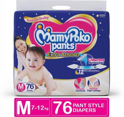 MamyPoko Pants Extra Absorb Diapers - M