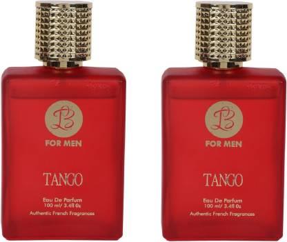 Lyla Blanc TANGO Perfume Spray for Men- Pack of 2 (100ml each) Eau de Parfum  -  100 ml