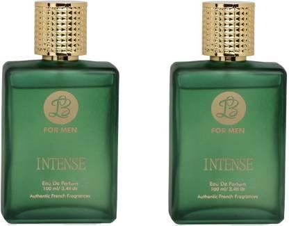 Lyla Blanc INTENSE Perfume Spray for Men- Pack of 2 (100ml each) Eau de Parfum  -  100 ml