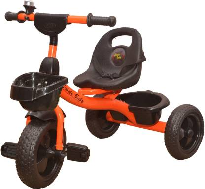 Stepupp Grow BABY TRICYCLE FOR KIDS WITH FRONT AND BACK BASKET KIDS TRICYCLE RECOMMENDED TRICYCLE FOR BABY GIRL OR TRICYCLE FOR BABY BOY OR TRICYCLE FOR TODDLER GIRL OR TRICYCLE FOR TODDLER BOY RECOMMENDED FOR TODDLER 1,2,3,4,5 YEAR CHILDREN TRICYCLE FOR KIDS(ORANGE) ST GROW TRICYCLE FOR KIDS BABY TRICYCLE 304403 Tricycle