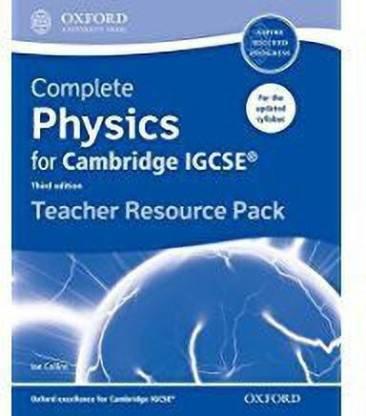 Complete Physics for Cambridge IGCSE (R) Teacher Resource Pack