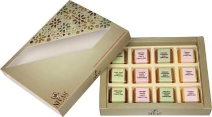 NIVAS CHOCOLATE FESTIVE GIFT BOX (170 GMS) Truffles
