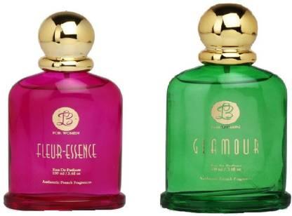 Lyla Blanc FLEUR-ESSENCE GLAMOUR Perfume Spray for Women -(Set of 2) (100ml each) Eau de Parfum  -  100 ml