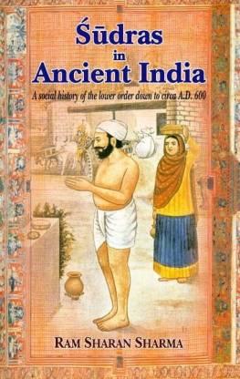 Sudras in Ancient India