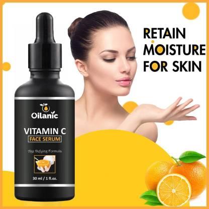 Oilanic Vitamin C Face Serum For Anti Aging, Smoothening & Brigthening Face For Men & Women ( 30 ml)