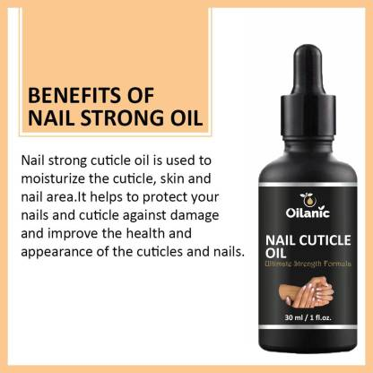 Oilanic Nail & Cuticle Oil For Nails Growth and Strength