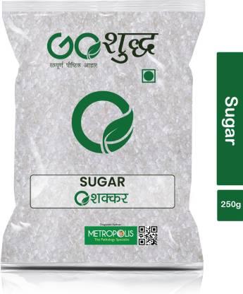 Goshudh Premium Quality White Sugar-250gm (Pack Of 1) Sugar