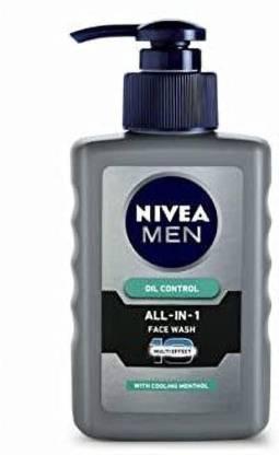 NIVEA All-In-1 Oil Control Face Wash
