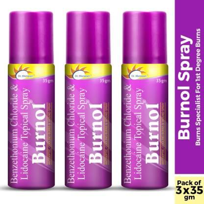 Dr. Morepen Burnol Spray, Your Burn Relief Specialist Antiseptic Spray