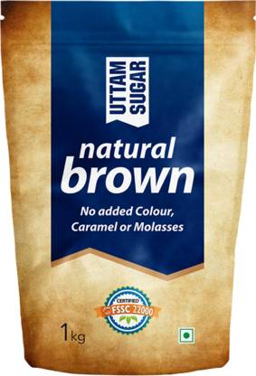 Uttam Sugar Natural Brown Sugar