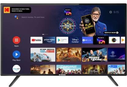 KODAK 7XPRO Series 126 cm (50 inch) Ultra HD (4K) LED Smart Android TV