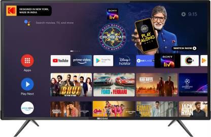 KODAK 7XPRO Series 108 cm (43 inch) Full HD LED Smart Android TV