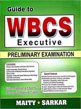 Guide To WBCS Executive Preliminary Examination
