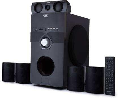 IMPEX Vibrato 5.1 Multimedia System USB SD FM Playback Support Feature Superior Sound Clarity 170 W Bluetooth Home Theatre