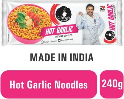 Ching's Secret Hot Garlic Instant Noodles Vegetarian
