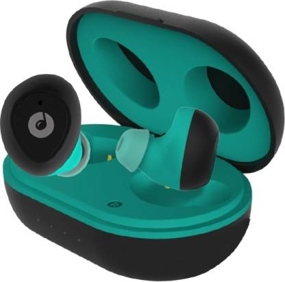 Melomane Melopd Rhythm Bluetooth Headsets (Black & Green, In the Ear) Bluetooth Headset