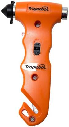 Tropicool 4 In 1 Rescue Tool With Torch Rtc-701 Car Safety Hammer