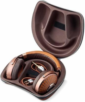 FOCAL Stellia Closed-Back Circum-Aural Over-Ear Headphones (Cognac) Wired Headset