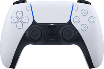 Sony PS5 DualSense Wireless Controller(White, For PS5)