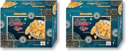 Kiwano Butter Kaju Cookies Cookies