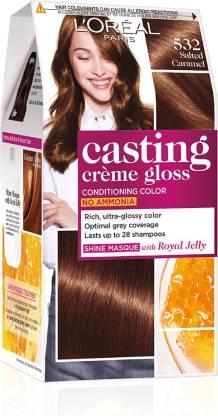 L'Oréal Paris Casting Creme Gloss Hair Color , 532 Salted Caramel