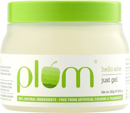 Plum Hello Aloe Just Gel   For All Skin & Hair Types   99% Natural
