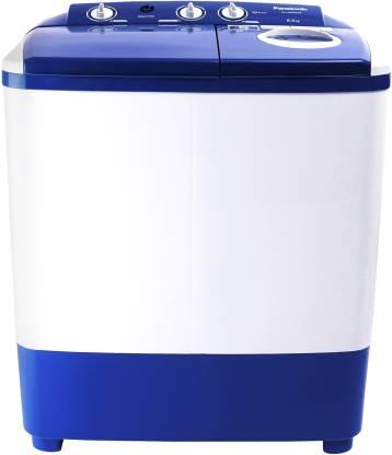 Panasonic 6.5 kg 5 star Semi Automatic Top Load White, Blue