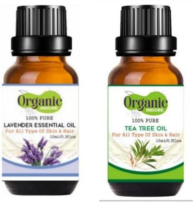 OrganicIndore Tea Tree oil and Lavender oil