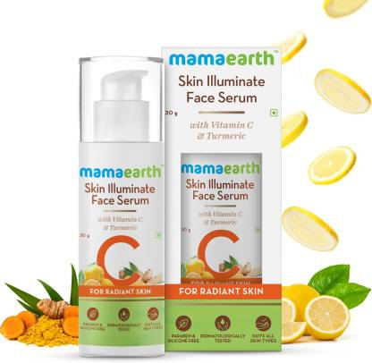 MamaEarth Skin Illuminate Vitamin C Serum For Radiant Skin with High Potency Vitamin C Turmeric
