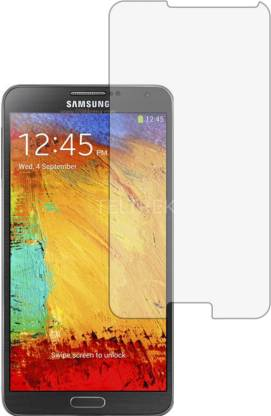 TELTREK Tempered Glass Guard for SAMSUNG NOTE 3 N9000 (Matte Finish, Flexible)