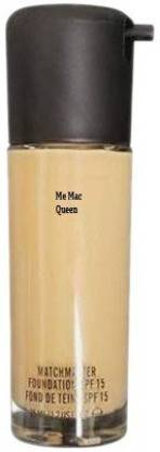 MeMac Queen Kart foundation for all skin type foundation (NC-25) Foundation