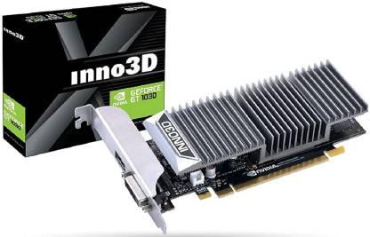 Inno3D NVIDIA GEFORCE GT 1030 2GB GDDR5 Graphics Card 2 GB DDR2 Graphics Card