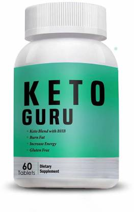 Vokin Biotech Keto Guru Tablets for weight loss (60 Tablets)