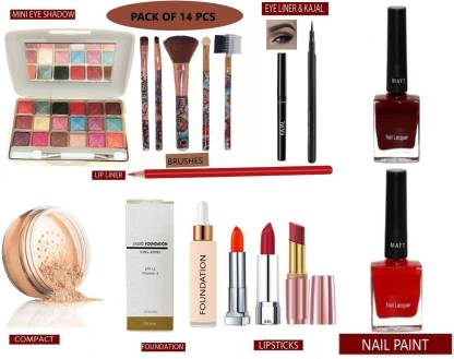 AJDP bridal women college girls makeupkit