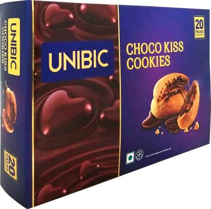[Pantry] Unibic Cookies, Choco Kiss Cookies, Choco Cream Filled Cookies, Choco-Centred Biscuits 250g
