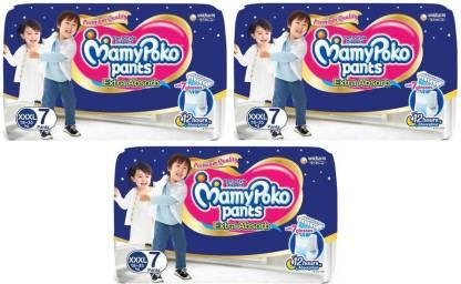 MamyPoko Poko Extra Absorb Diapers, XXXL7+7+7 - XXXL