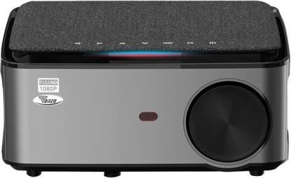 TONZO 1080P Full HD Projector WIFI digital keystone Projetor 1920 x 1080P screen mirroring 3D Home Theater Video Cinema (6500 lm / 2 Speaker / Wireless / Remote Controller) Portable Projector