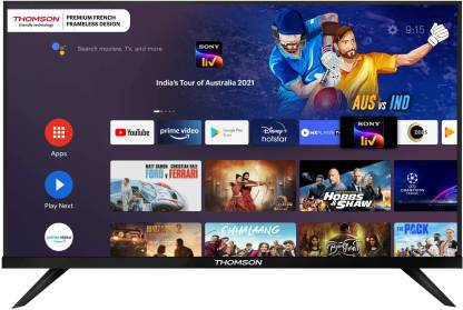 Thomson 9A Series 108 cm (43 inch) Full HD LED Smart Android TV with Bezel Less Display