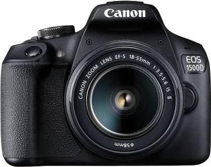 Canon EOS 1500D DSLR Camera Body+ 18-55 mm IS II Lens