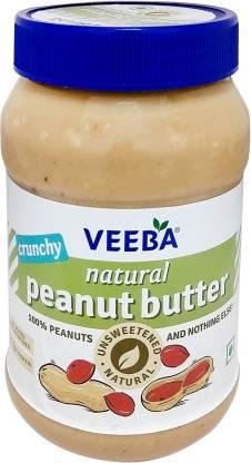 VEEBA Crunchy Natural Peanut Butter 1 kg