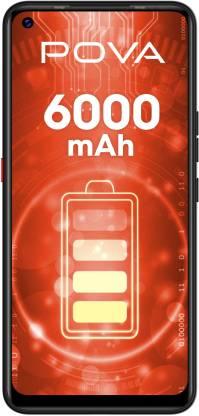 Tecno POVA (Dazzle Black, 128 GB)