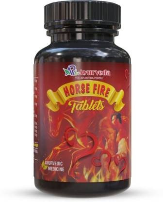A R Ayurveda Horse Fire Tablets - Ayurvedic Stamina Booster For Men