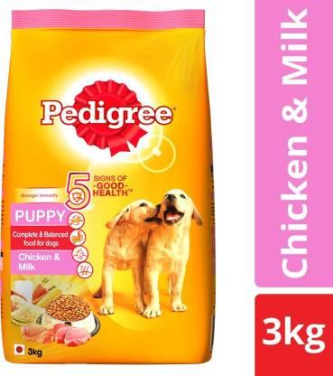Pedigree Puppy Milk, Chicken 3 kg Dry New Born Dog Food