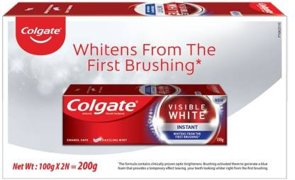 Colgate Visible White Instant Toothpaste