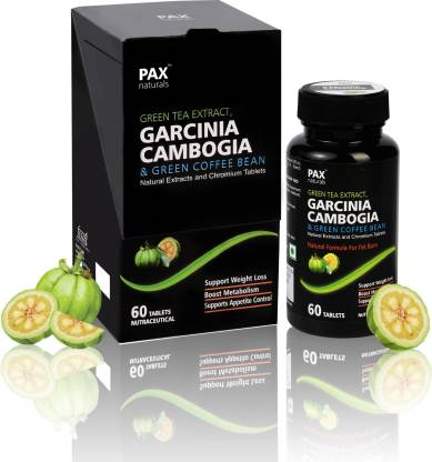 paxnaturals Garcinia Cambogia, Green Tea and Coffee Extract for Weight Loss